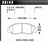 Hawk HB143W.680 - Hawk DTC-30 Circle Track Brake Pads