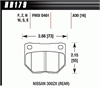 Hawk HB179Z.630 - Hawk Ceramic Brake Pads