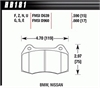 Hawk HB181N.590 - Hawk HP-Plus Performance Brake Pads