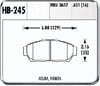 Hawk HB245N.631 - Hawk HP-Plus Performance Brake Pads