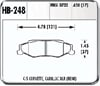 Hawk HB248F.650 - Hawk HPS Performance Brake Pads