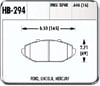 Hawk HB294F.646 - Hawk HPS Performance Brake Pads