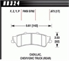Hawk HB324Z.673 - Hawk Ceramic Brake Pads