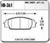 Hawk HB361N.622 - Hawk HP-Plus Performance Brake Pads