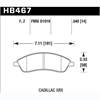 Hawk HB467Z.540 - Hawk Ceramic Brake Pads