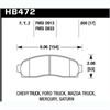 Hawk HB472Z.650 - Hawk Ceramic Brake Pads