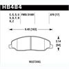 Hawk HB484Z.670 - Hawk Ceramic Brake Pads
