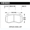 Hawk HB563Z.656 - Hawk Ceramic Brake Pads