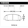 Hawk HB606Z.650 - Hawk Ceramic Brake Pads