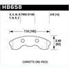 Hawk HB658Z.570 - Hawk Ceramic Brake Pads