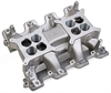 Holley 300-121 - Holley LS 2x4 Dual Plane Intake Manifolds