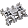 Holley 300-134 - Holley LS 2x4 Dual Plane Intake Manifolds