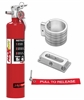 H3R Performance MX250RK1 - H3R Performance MaxOut Dry Chemical Fire Extinguishers