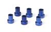 JEGS Performance Products 100390 - JEGS AN Hard-Line Aluminum Tube Nuts & Sleeves