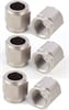JEGS Performance Products 105381 - JEGS AN Hard-Line Aluminum Tube Nuts & Sleeves