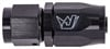 JEGS Performance Products 110001 - JEGS AN Hose End Fittings - Black