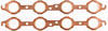 JEGS Performance Products 210855 - JEGS Copper Exhaust Gaskets