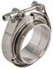 JEGS Performance Products 30870JEGS Stainless Steel V-Band Clamps with Steel Collars