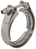 JEGS Performance Products 30875 - JEGS Stainless Steel V-Band Clamps with Steel Collars