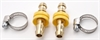 JEGS Performance Products 60342 - JEGS Brass Hose Barb Adapter Fittings