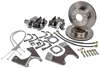 JEGS Performance Products 630614 - JEGS 10/12-Bolt GM Rear Disc Conversion Kits