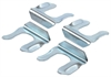 JEGS Performance Products 63092 - JEGS Brake Line Mounting Tabs & Retaining Clips