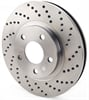 JEGS Performance Products 632040 - JEGS HP Drilled and Vented Brake Rotors
