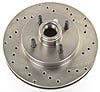 JEGS Performance Products 632100 - JEGS HP Drilled and Vented Brake Rotors