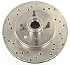 JEGS Performance Products 632101 - JEGS HP Drilled and Vented Brake