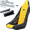 JEGS Performance Products 70200K3 - JEGS Pro High Back Race Seats and Seat Covers