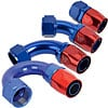 JEGS-AN-Hose-End-Fittings-Blue-Red