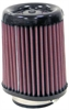 K&N RX-5090 - K&N Oval Tapered Universal Air Filters