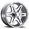 Ultra Wheel 208-5873P - Ultra 207/208 Series Polished Badlands RWD Wheels