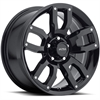 Ultra-Motorsports-251-Decoy-Gloss-Black-w-Spot-Milled-Dimples-Wheels
