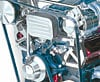 March Performance 20815 - March Small Block Chevy High-Mount Serpentine Kits