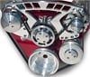 March-Chevy-Pro-Track-II-Serpentine-Pulley-Kits