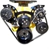 March Performance 21650-08 - March Sport Track Serpentine Drive Kit Small Block Chevy Short Water Pump
