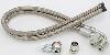 March Performance P328 - March Stainless Braided Power Steering Hose Kits