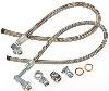 March Performance P329 - March Stainless Braided Power Steering Hose Kits