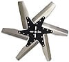 Moroso 64000 - Moroso Stainless Steel Flex Fan