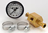 Mr. Gasket 1564 - Mr. Gasket Fuel Line w/Pressure Gauge