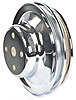 Mr. Gasket 4967 - Mr. Gasket Chrome-Plated Steel Pulleys