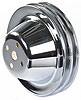 Mr. Gasket 4971 - Mr. Gasket Chrome-Plated Steel Pulleys