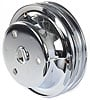 Mr. Gasket 4977 - Mr. Gasket Chrome-Plated Steel Pulleys