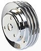 Mr. Gasket 4978 - Mr. Gasket Chrome-Plated Steel Pulleys