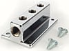 Mr. Gasket 6151MRG - Mr. Gasket Chrome Fuel Blocks