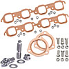 Mr. Gasket 7158K - JEGS/Mr. Gasket/ARP Copper Exhaust Gasket and Stainless Stud Kits
