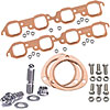 Mr. Gasket 7158K1 - JEGS/Mr. Gasket/ARP Copper Exhaust Gasket and Stainless Stud Kits