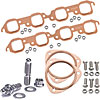 Mr. Gasket 7158K2 - JEGS/Mr. Gasket/ARP Copper Exhaust Gasket and Stainless Stud Kits