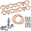 Mr. Gasket 7160K1 - JEGS/Mr. Gasket/ARP Copper Exhaust Gasket and Stainless Stud Kits